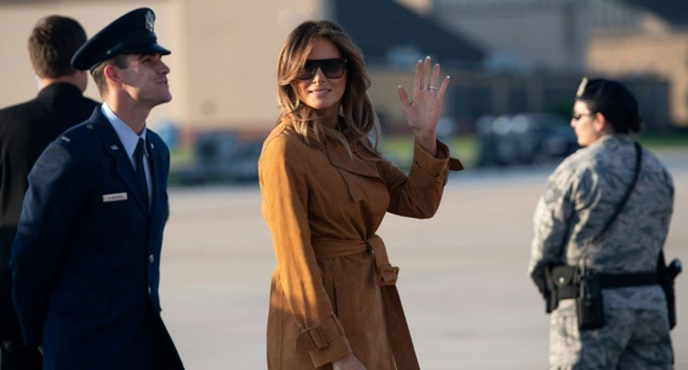 First lady Melania Trump flying to Mar-a-Lago after president cancels Nancy Pelosi's visit to Afghanistan: report