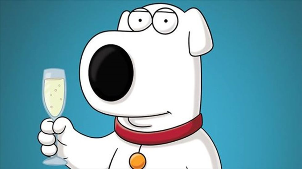 Brave hearts, 'Family Guy' fans -- Brian the dog is back