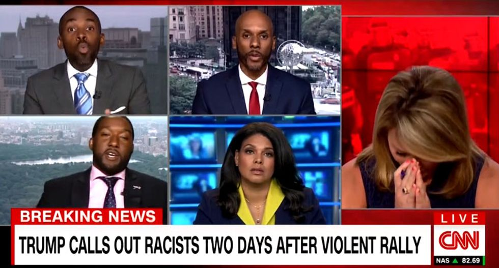 WATCH: CNN panel turns into screaming match after guest questions if Trump surrogate is really black