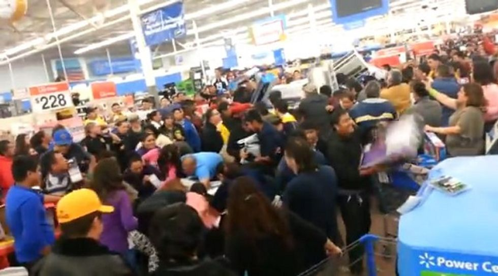 Wal-mart monetizes the Occupy Wall Street movement