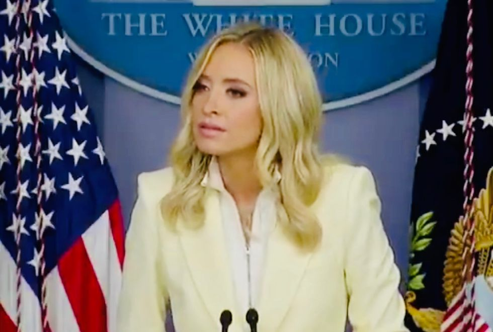 'I'm dying to go back to Church': Kayleigh McEnany under fire for claim reporters 'desperately' don't want churches to re-open