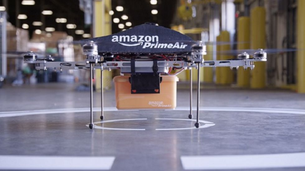 Amazon's drone army welcomed by civil libertarians