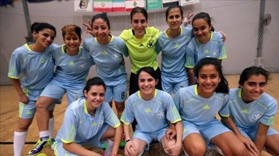 Soccer-like Lebanese sport gets country's first womens' league