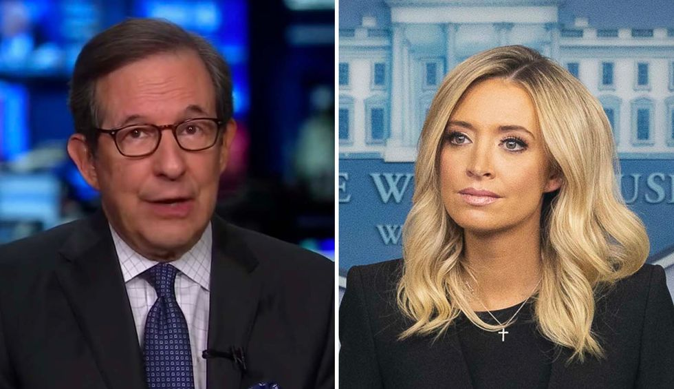Fox's Chris Wallace rips into Kayleigh McEnany for questioning faith of White House reporters
