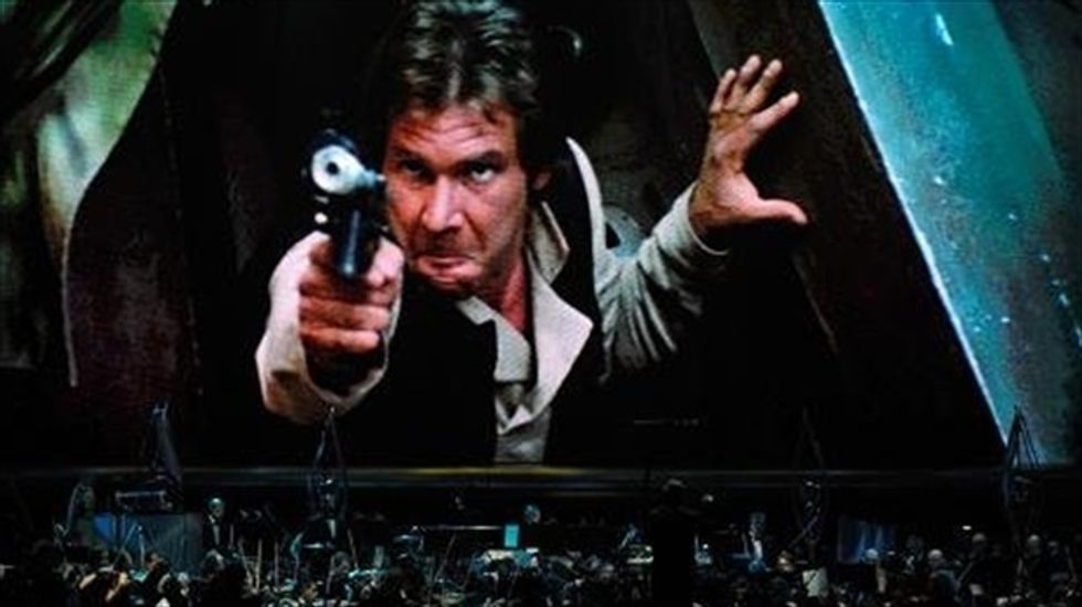 Geeky Gift alert: Han Solo's pistol from 'Star Wars' films set for auction