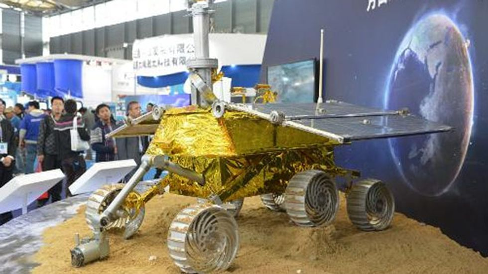China's first lunar rover enters the moon's orbit
