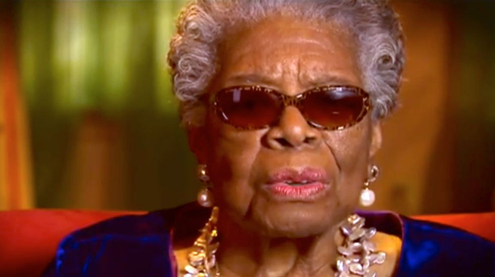 'His Day is Done': Dr. Maya Angelou writes moving poem in honor of Nelson Mandela