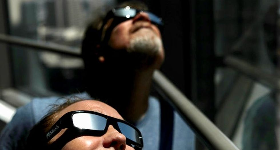Millions of Americans to gaze upon Monday's once-in-a-lifetime eclipse