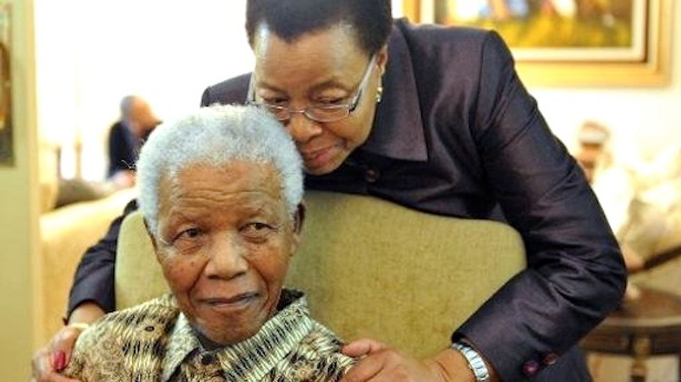 'It wasn't love at first sight,' says widow who made a 'decent man' of Mandela