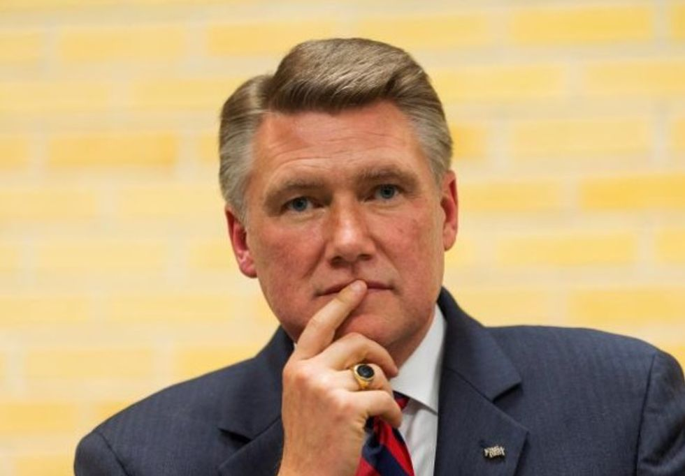 North Carolina Republican Mark Harris' son says warned father about operative's past