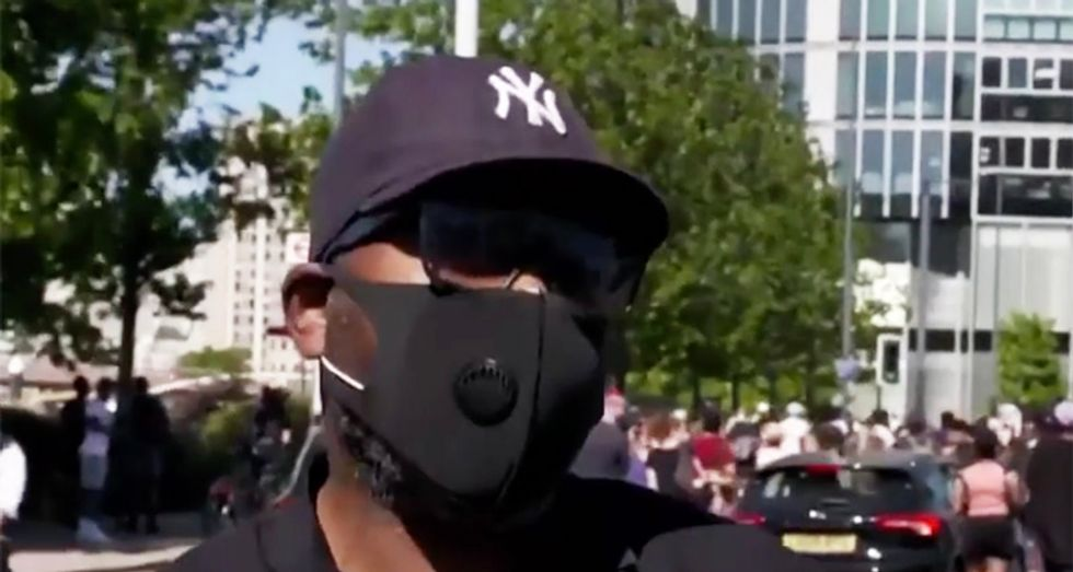 Black Londoner explains George Floyd protester support with story of how cops murdered his brother
