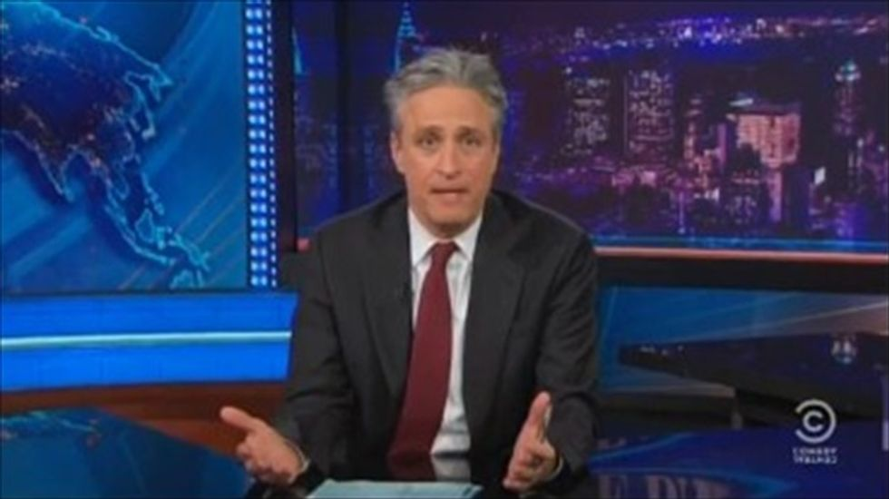Jon Stewart on Cliven Bundy: 'Sean Hannity has now made Glenn Beck the voice of reason'
