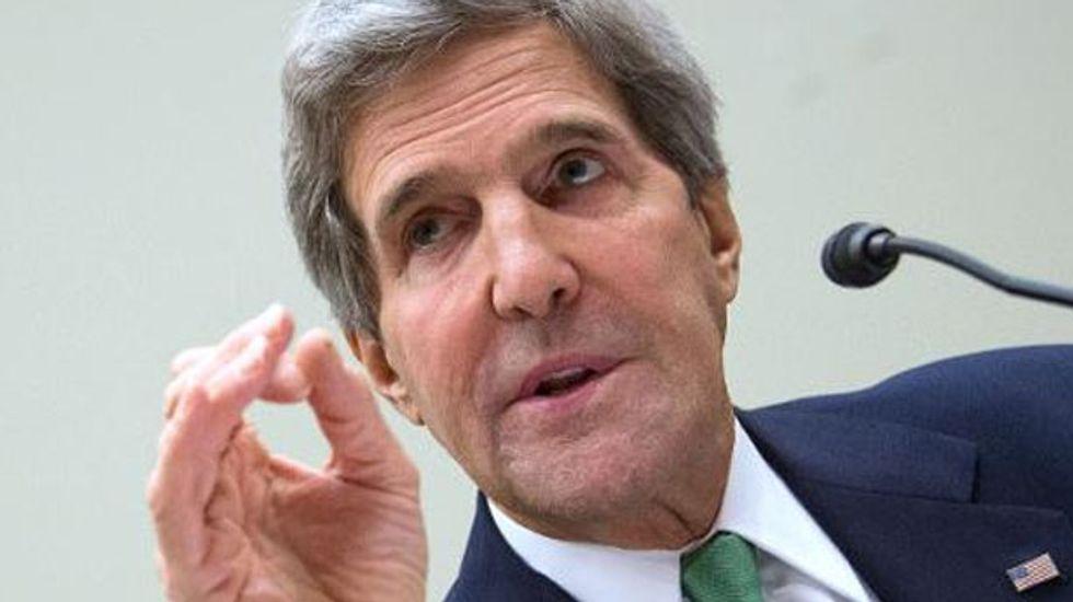 U.S. Secretary of State John Kerry says Israel risks becoming 'apartheid' state