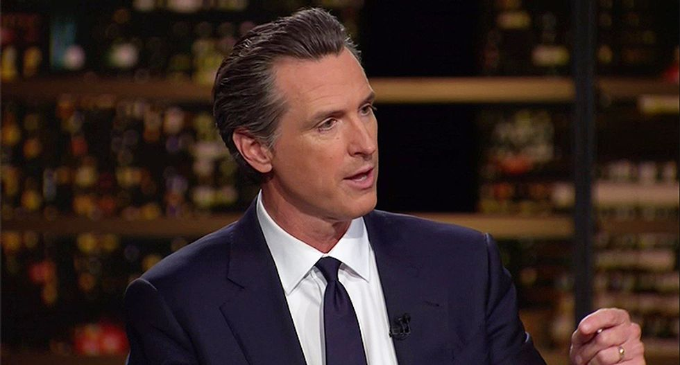 WATCH: Gavin Newsom schools Bill Maher on why Mike Pence is just as terrifying as Donald Trump