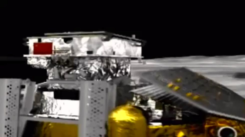 China's first lunar rover lands on moon