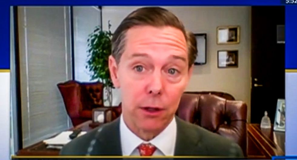 C-SPAN caller chews out Christian 'opportunist' Ralph Reed after he praises Trump's Bible photo op