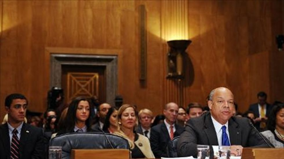 Jeh Johnson confirmed as new Homeland Security chief