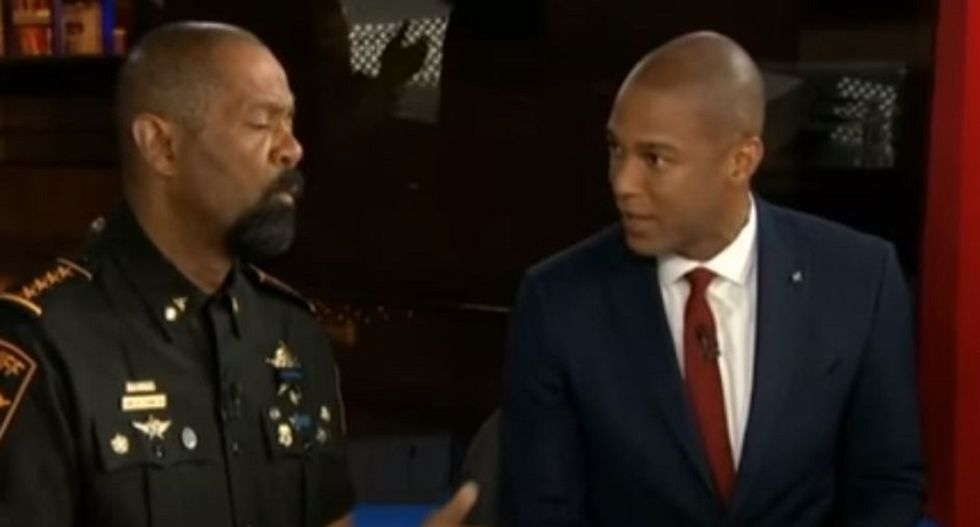 WATCH: CNN interview on Black Lives Matter spins out of control as conservative sheriff berates host