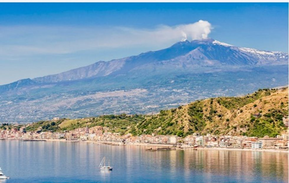 Mount Etna: Volcano is sliding towards the sea and now we know why
