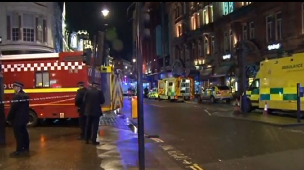 UPDATED: At least 88 people injured after ceiling of Apollo Theatre in London collapses