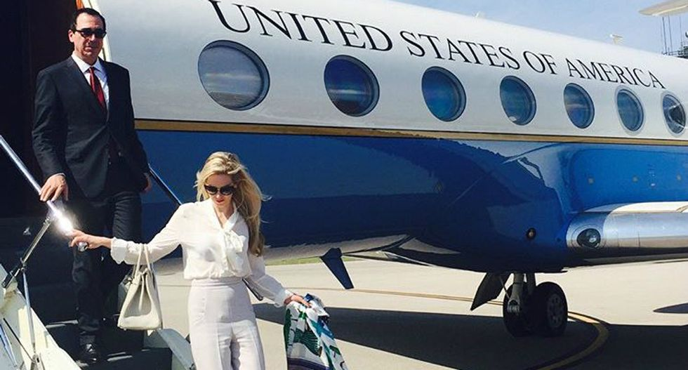 'We paid more taxes': Mnuchin's wife mocks critic who called her out for flaunting wealth in Instagram post