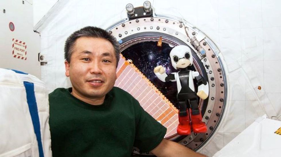World's first robot astronaut chats with commander of ISS about Santa Claus