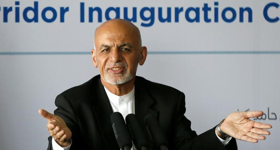 Afghan president 'grateful' for Trump's commitment to fighting Taliban