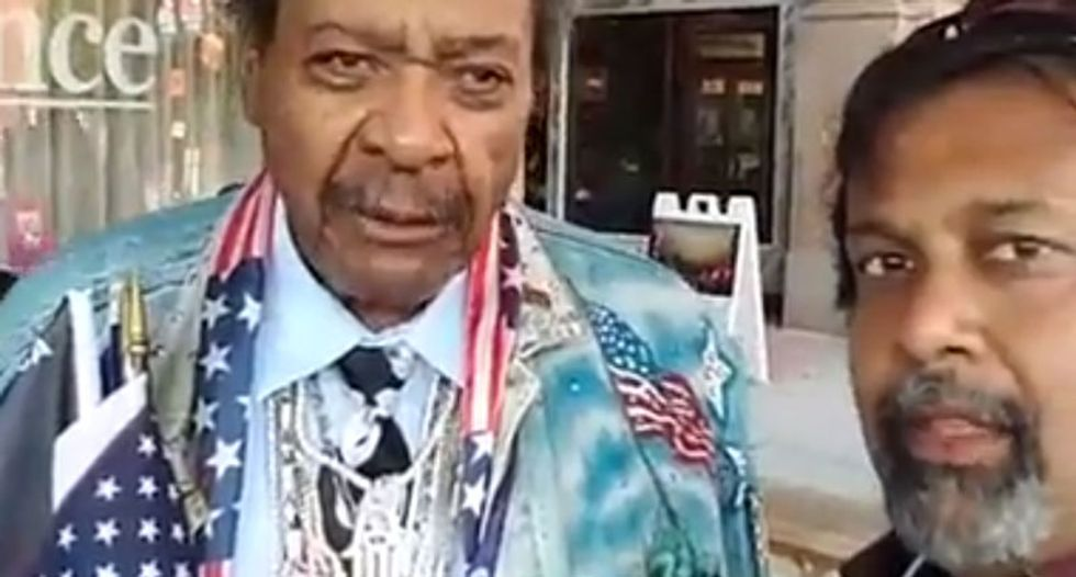 Watch what happens when Don King is asked about stomping a man to death in Cleveland 50 years ago