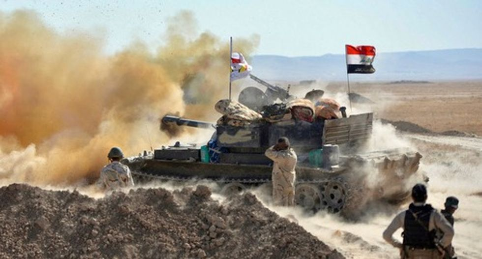 Iraqi forces breach Islamic State stronghold Tal Afar: statement