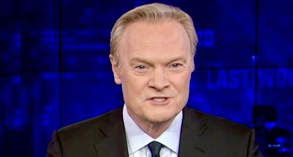 MSNBC's Lawrence O'Donnell destroys 'despicable flunky-in-chief' John Kelly over his latest sexist comments