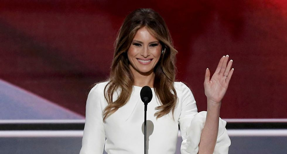Melania Trump steals the spotlight at Republican convention -- thanks to plagiarism accusations