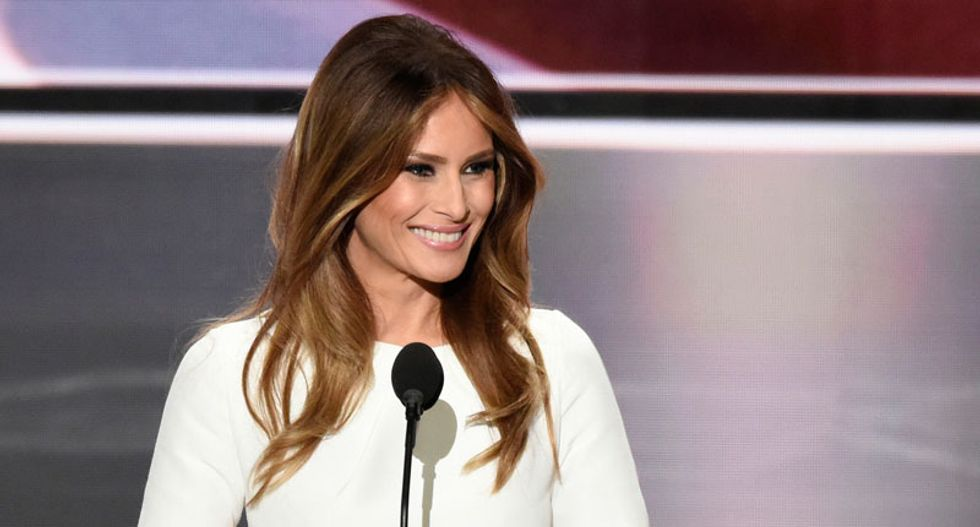 Melania Trump's lawyers admit she hoped to cash in on being First Lady by selling clothes and fragrances