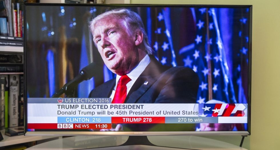 Trump spends 4 to 8 hours a day 'marinating in the no-holds-barred wars of cable news': report