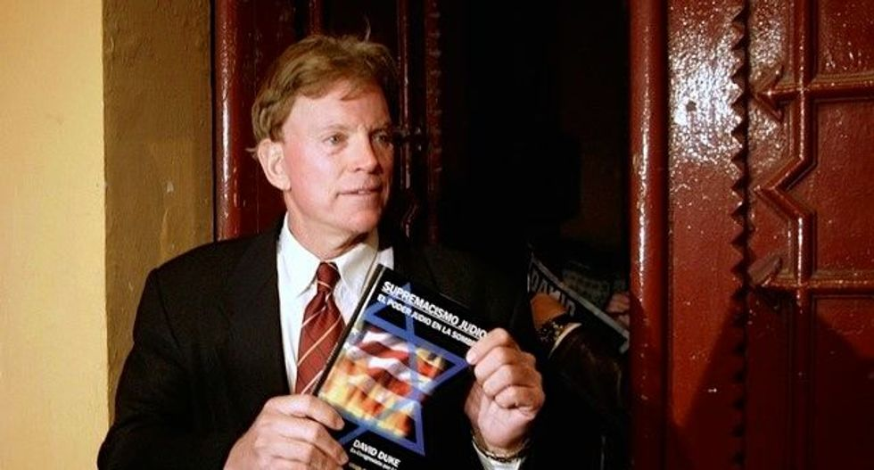 David Duke justifies violence against 'journalist terrorism' after reporter targeted by 'gory' threats