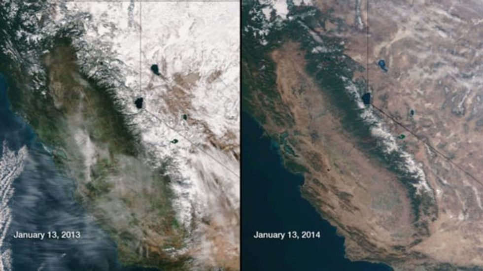 Pacific storm eases California drought, but state has long way to go