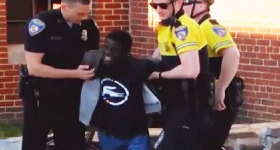 This is a war on police! Twitter conservatives lash out at 'racist' indictments of Baltimore cops