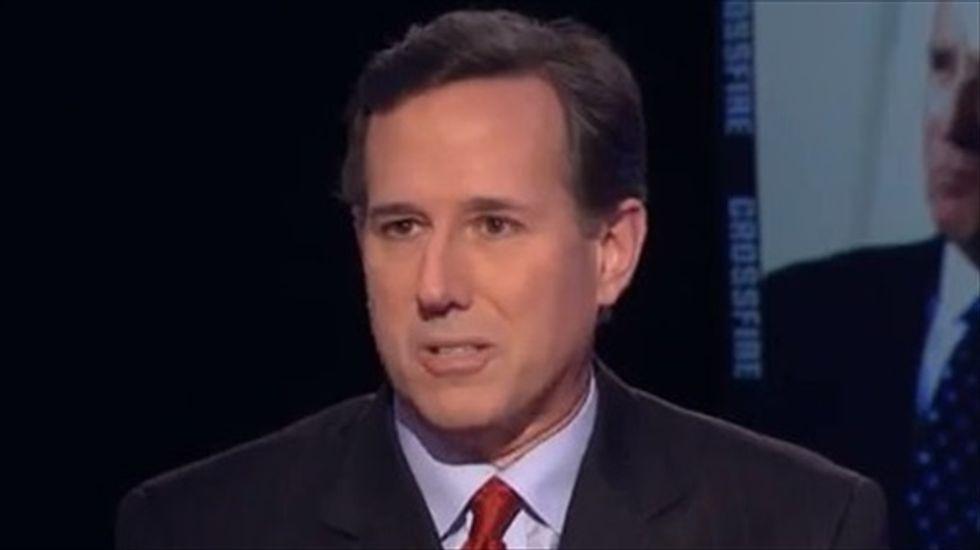 Rick Santorum slams Muslims: 'You don't see Baptist ministers going on jihad'