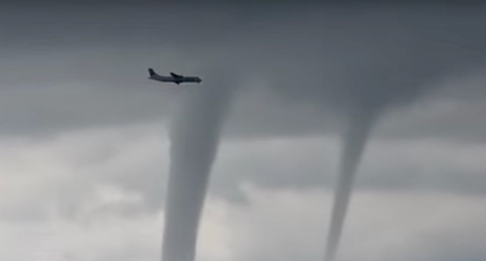 Stuck in a hurricane? Don't forget to look out for tornadoes.