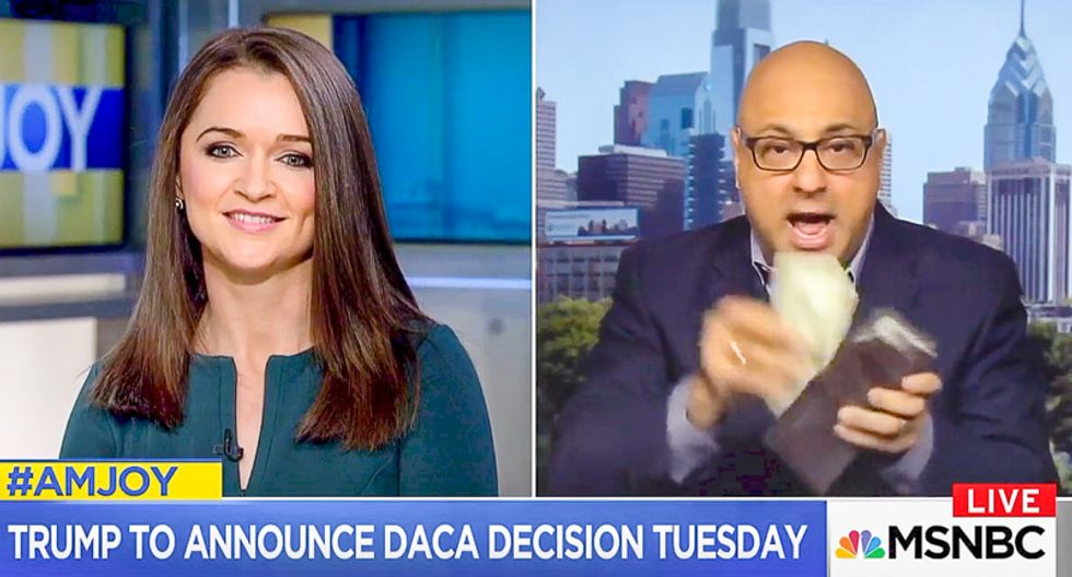 'Never bring up Canada': Ali Velshi trounces conservative for completely bungling Canadian immigration facts