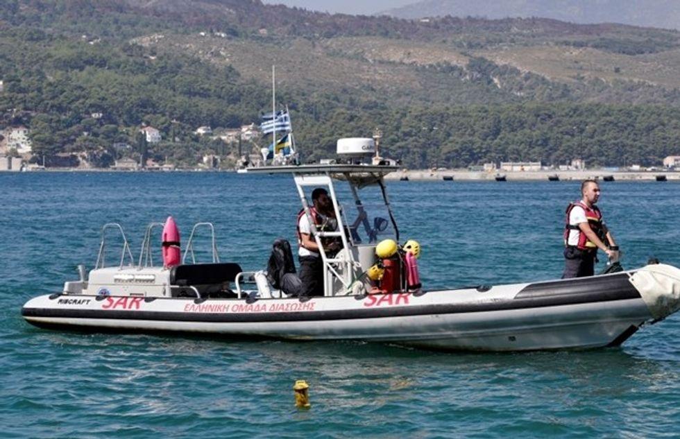 Dozens of migrants saved off western Greece: coast guard