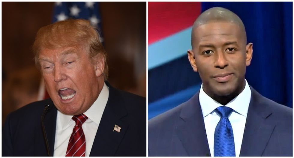 Andrew Gillum slams Trump: 'He spent his day tweeting lies rather than working to tamp down division he helped stoke'
