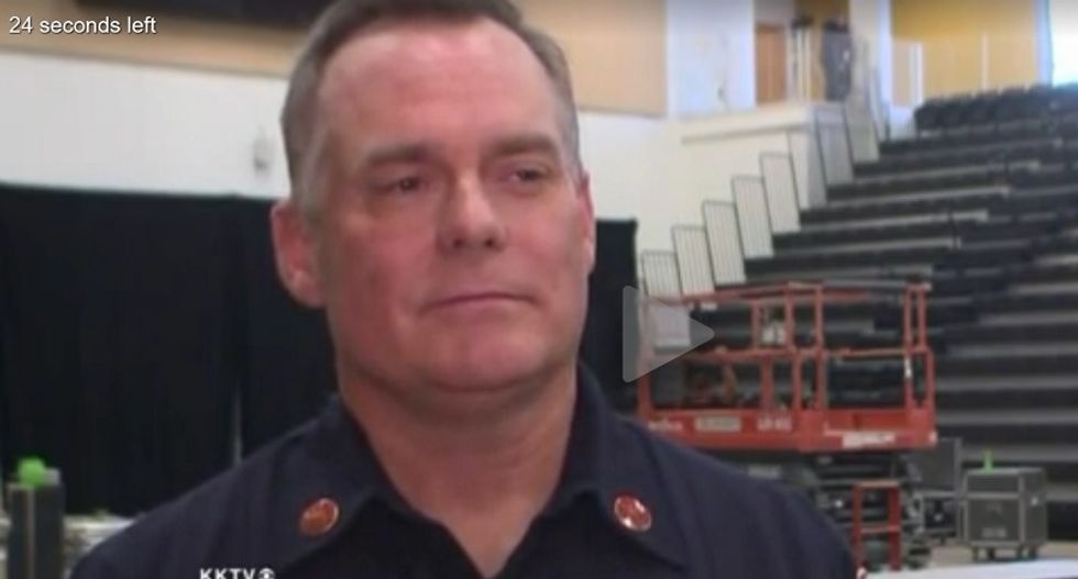 Colorado Springs fire marshal responds with grace after being bashed by Trump for doing his job