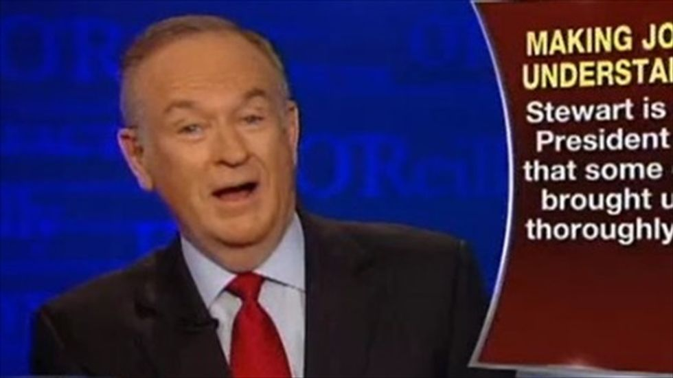 Bill O'Reilly: Critics are after Fox because we pressure Obama 'to fight the terror savages'