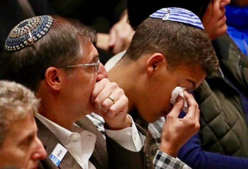 Rabbi vows Pittsburgh synagogue massacre 'will not break us'