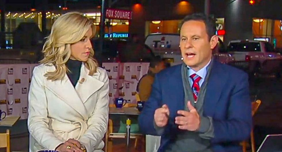 Fox & Friends worries about 'shrapnel' from Trump demonizing media: 'It does a lot of damage'