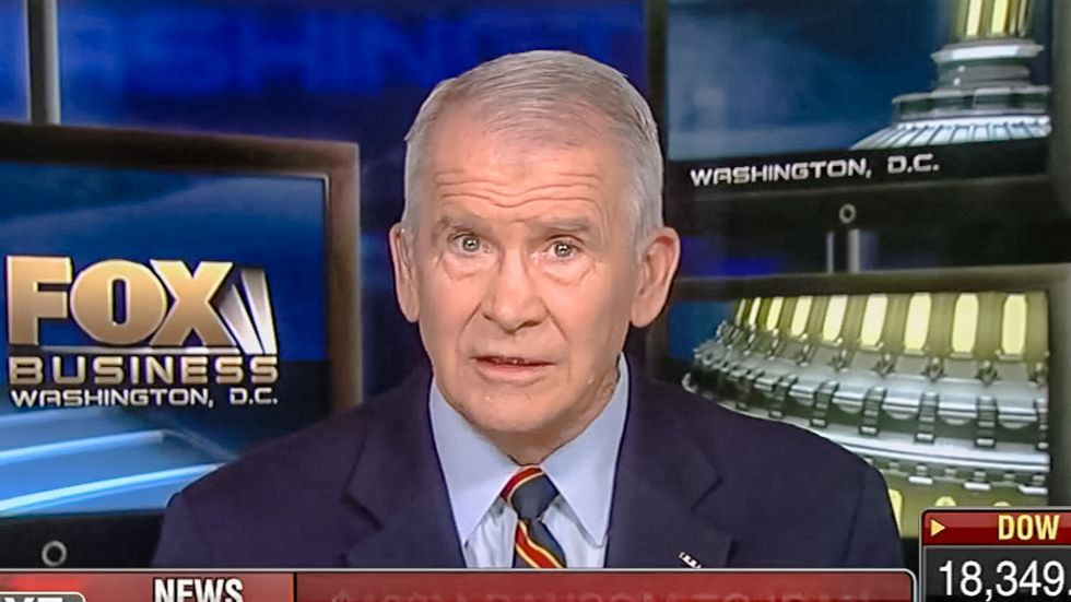 Iran-Contra arms dealer Oliver North: Time to confront Kim Jong Un by putting 'tactical nukes' in South Korea
