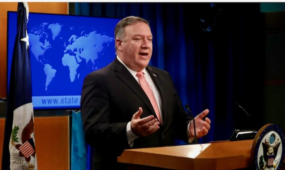 Pompeo: Iran 'responsible' for Gulf of Oman attacks