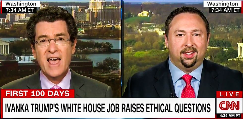 'How is this not nepotism?': CNN panel says Ivanka Trump appointment makes US look like a 'monarchy'