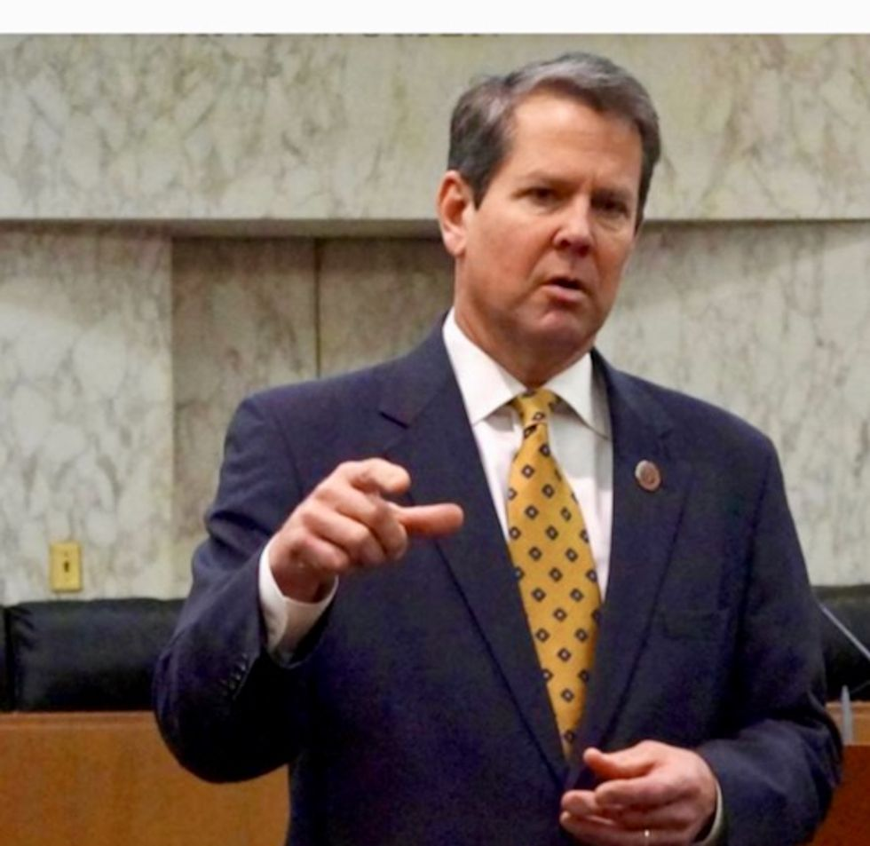 Hacking allegation shows peril of Georgia Republican Brian Kemp's twin election roles