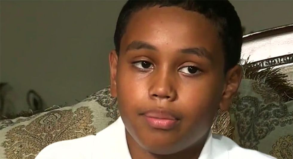 Michigan teacher 'violently snatches' black 6th-grader out of chair when he refuses to stand for pledge